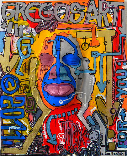 [ Paris Tonkar magazine ] #graffiti #streetart #urban #lifestyle: Gregos Art | Art contemporain | Scoop.it