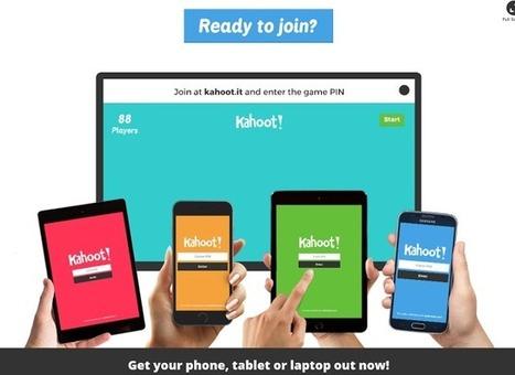 Web2-Unterricht: Kahoot! – der neuste Hit -Quiz im Schulzimmer Nr. 2 | Lernen mit iPad | Scoop.it