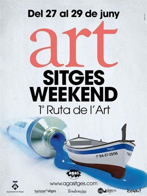 Siete galerías de Sitges promocionan la cultura con una ruta artística - Europa Press | ARTE | Scoop.it
