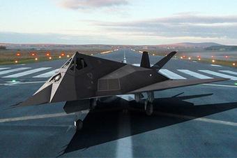 Lockheed-Martin F-117 Nighthawk 3D | 3D Library | Scoop.it