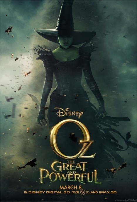 A Good Look At Sam Raimi's Wicked Witch Of Oz - But Who Is She? | Animation News | Scoop.it