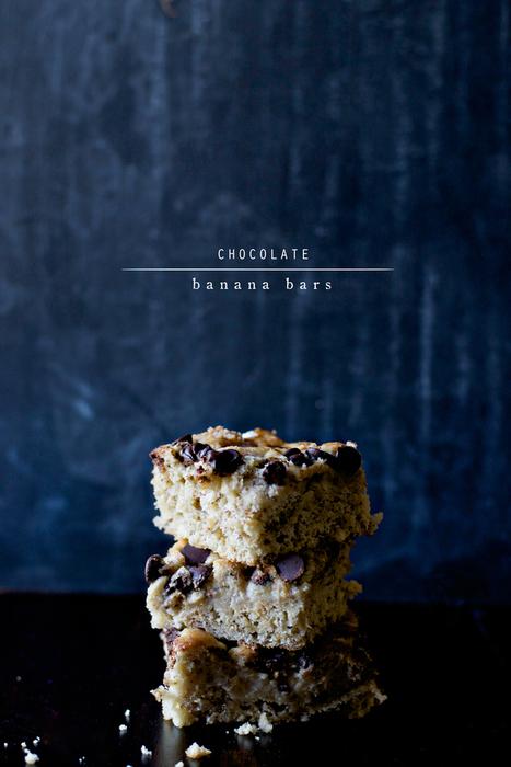 The Wiegands: Chocolate Banana Bars. | My Vegan recipes | Scoop.it