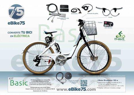 Ebike 75, sistema para transformar cualquier bici en eléctrica / EcoInventos.com | Creatividad en la Escuela | Scoop.it