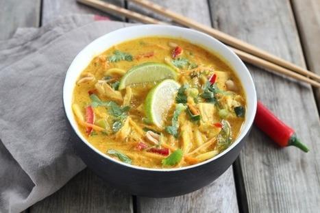 Nouilles Ramen au poulet à la thailandaise | #EatingCulture #EasyCooking #cuisine #recipes #recettes | Hobby, LifeStyle and much more... (multilingual: EN, FR, DE) | Scoop.it