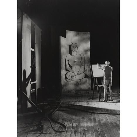 Expo Photo Petit Palais : Dans l'atelier, l'artiste photographié   Exposition Photographie   Scoop.it