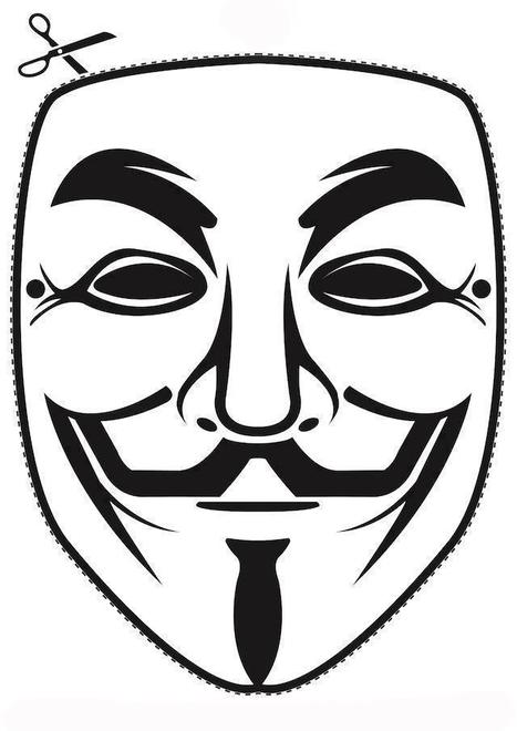 If you need a mask...   Anonymous: Freedom seeker? or Hacker?   Scoop.it
