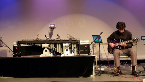 A four-armed robot can now improvise music as well as human bandmates | audio branding | Scoop.it