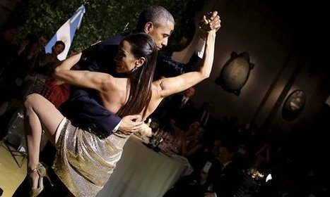 President Obama dances the tango in Argentina – video | Community Dance | Scoop.it