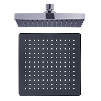 8-inch Chrome Finish A Grade ABS Rectangular Shape Square Wall Mounted Rainfall Shower Head -- Faucetsmall.com | Shower Faucets & Bathtub Faucets | Scoop.it