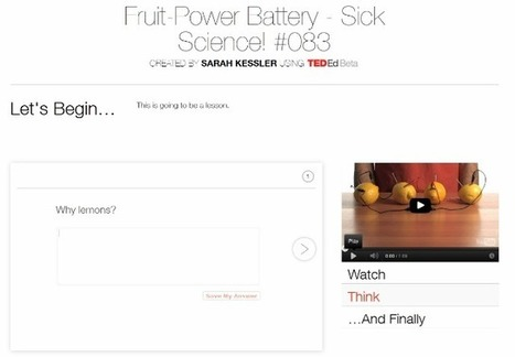 TED's New Site Turns Any YouTube Video Into a Lesson | An Eye on New Media | Scoop.it