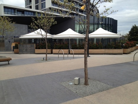 Outdoor Awnings Melbourne | Restaurant Linked Umbrellas Photos | Melbourne Awning Centre | Scoop.it
