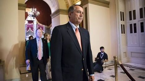 Boehner 'ready for the phone call' from Obama to end budget impasse | Obama et l'impasse budgétaire | Scoop.it