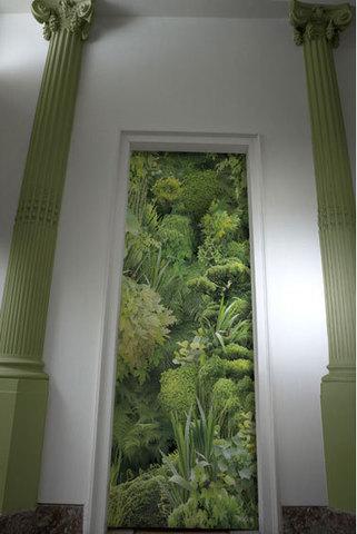 Papier peint trompe l 39 oeil plus vrai que nature - Papier peint pour porte ...