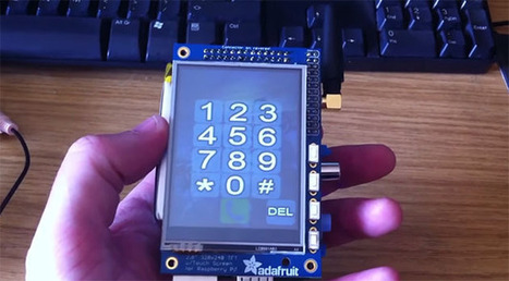 Raspberry Pi modded into a $160 cellphone | Arduino&Raspberry Pi Projects | Scoop.it