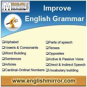 English Grammar Online free | Tips to improve Grammar - English Mirror | Online English Study | Scoop.it