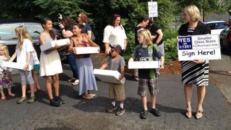 WA educators deliver 325,000-plus voter signatures to lower class size | Education Votes | NEA.org | Digital Media Literacy + Cyber Arts + Performance Centers Connected to Fiber Networks | Scoop.it