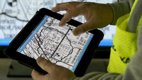 IPads Supplanting Blueprints Boosts Builder Productivity   Field BIM   Scoop.it