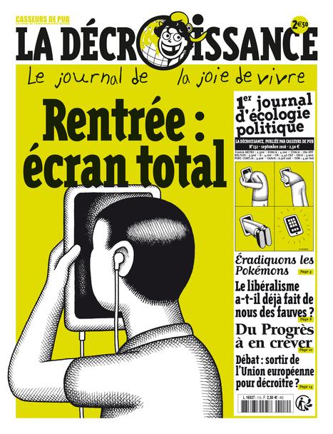 - Journal La Decroissance -   ecology and economic   Scoop.it