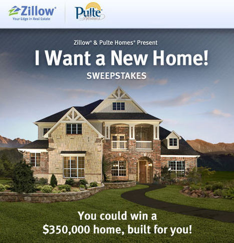 Zillow and Pulte Homes Give Away New Home — Property Portal Watch | Real Estate Plus+ Daily News | Scoop.it