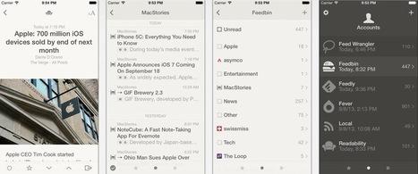Reeder 2.2 pour iOS rafraîchit les flux RSS en tâche de fond | RSS Circus : veille stratégique, intelligence économique, curation, publication, Web 2.0 | Scoop.it