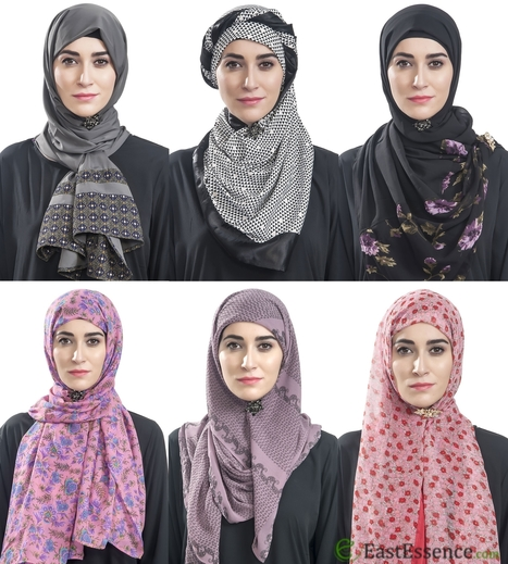 Hijab Pins Are No More Pins but Pieces of Jewelry | Islamic Clothes Online | Scoop.it