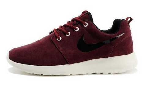 UK Trainers Nike Roshe Run Suede Mens Wine Red Black White Size 6 - 9 Outlet Locations For Sale | Nike Roshe Run Black And White | Scoop.it