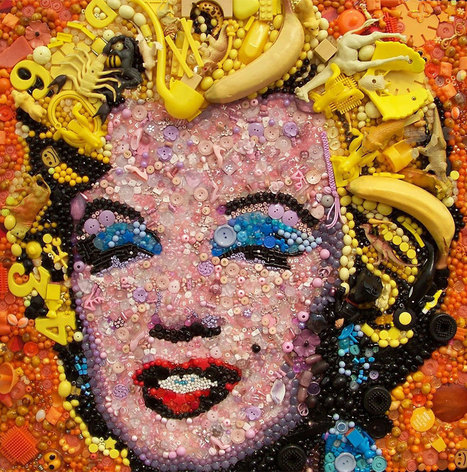 Famous Artworks and Portraits Recreated With Buttons, Toys and Other Found Objects   Web & Graphic Design - Inspirational resources and tips!!!   Scoop.it