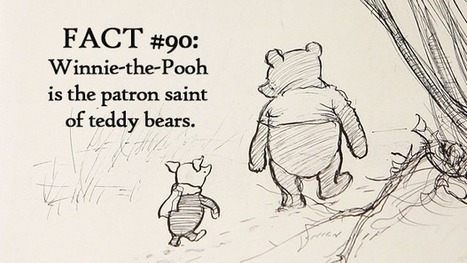 90 wonderful facts for Winnie-the-Pooh's 90th birthday | Children's Literature - Literatura para a infância | Scoop.it