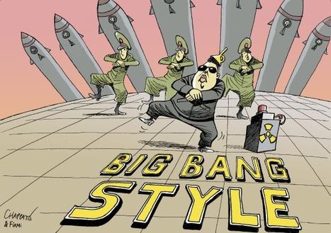 La danse à la mode nord coréenne | Dessins de presse | Scoop.it