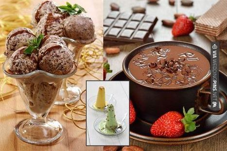 Wedding Food Ideas - #Desserts ideas for #Indian #wedding | wedding pictures | Scoop.it