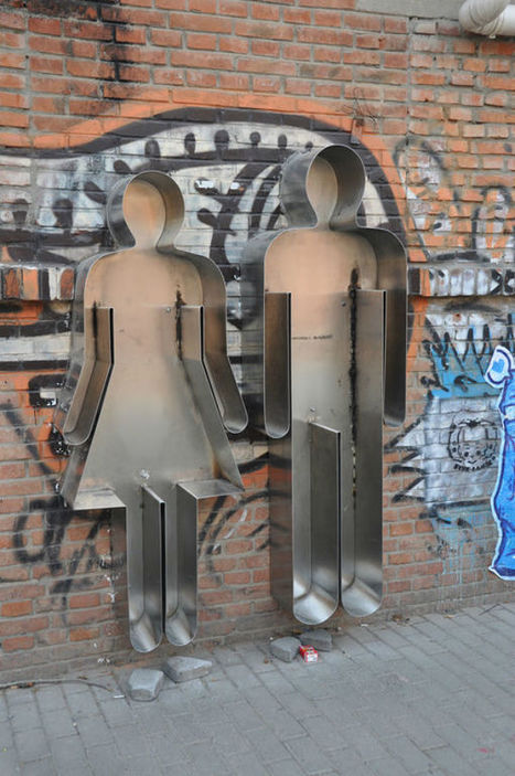 MISTURA URBANA » Você e eu: A street art de Zhang Zhaohui | Urban Life | Scoop.it
