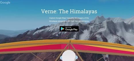 Verne. Explorez l'Himalaya en compagnie d'un drôle de personnage inventé par Google - Les Outils Google | Les outils du Web 2.0 | Scoop.it