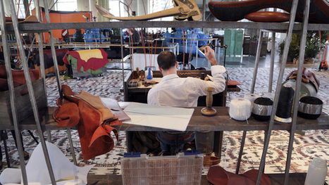 La maison Hermès met en scène son Festival des métiers au BFM - Tribune de Genève | textile | Scoop.it