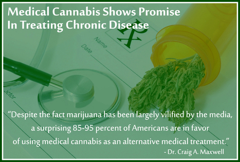 Medical Cannabis Shows Promise in Treating Chronic Disease - Ask Dr. Maxwell ... | Healing Chronic Pain & Disease | Scoop.it