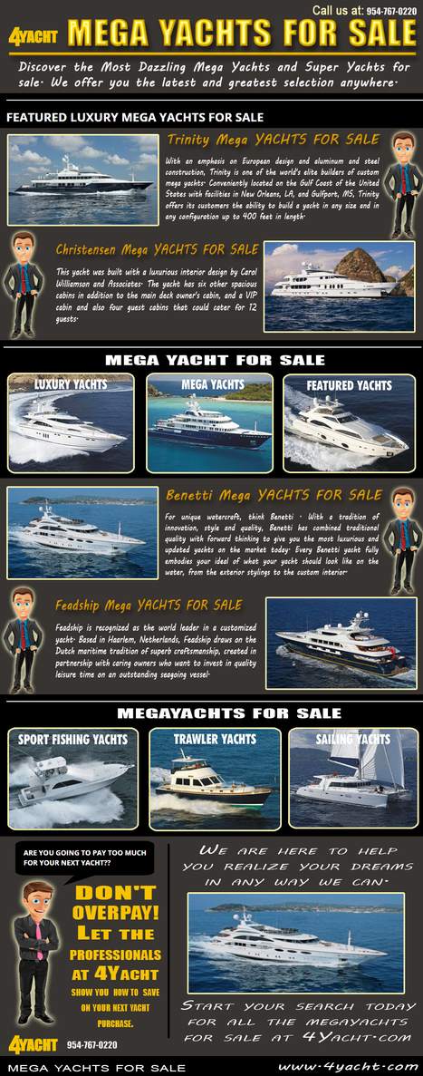 Mega Yachts For Sale | Mega Yachts For Sale | Scoop.it
