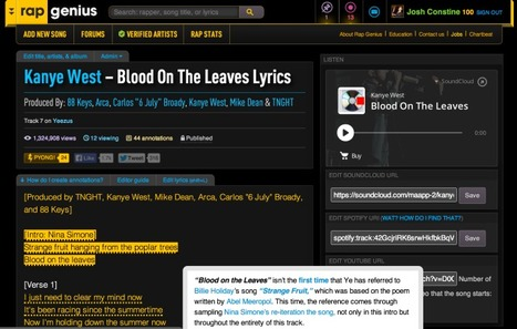 Google Puts Rap Genius Back Atop Searches, Favoring Smart Results Over Holding A Grudge | New Music | Scoop.it