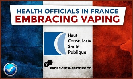 Health Officials In France Embrace Vaping   E Cig - Electronic Cigarette News   Scoop.it
