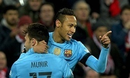 Barcelona seal narrow Copa del Rey victory over Athletic Bilbao - The Guardian | AC Affairs | Scoop.it