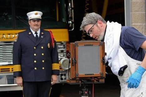 Haddam Firefighters Pose for Tintype Photographs | Film Photography Project | L'actualité de l'argentique | Scoop.it