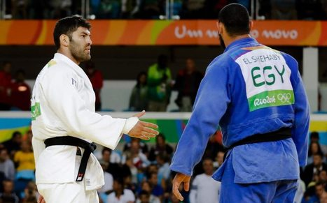 Egyptian judoka sent home from Rio after refusing to shake Israeli opponent's hand | Green Forward - Sports | Scoop.it
