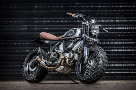 Down & Out's Fat-Tired Ducati Scrambler | Ductalk Ducati News | Scoop.it