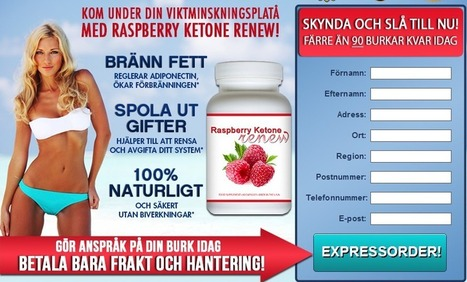 Raspberry Ketone Renew Review - fri rättegång leveranser begränsade | Flushed All The Toxins In Your Body | Scoop.it