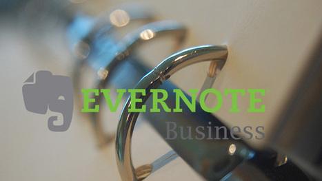 ナレッジ継承にも最適! プレミアム強化版「Evernote Business」提供 ... | Evernote news | Scoop.it
