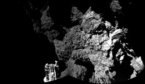 Rosetta's Philae finds hard ice and organic molecules | Astronomy.com | Space | Scoop.it