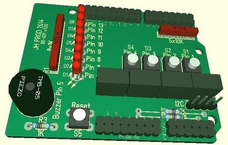 Arduino Shield: Input/Output carte de développement | Le Blog de ... | ARDUINO pour les grands débutants | Scoop.it