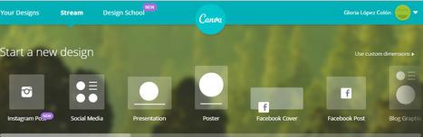 Canva - Amazingly simple graphic design for blogs, presentations, Facebook covers, flyers and so much more. | Herramientas para objetos de aprendizaje | Scoop.it