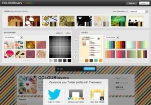 Themeleon: crea asombrosos fondos para tu perfil de Twitter | Las TIC y la Educación | Scoop.it