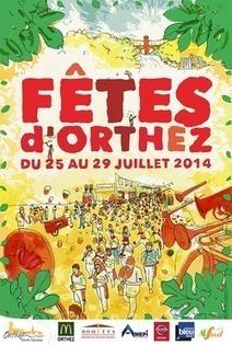 Fêtes d'Orthez 2014   vue sur les Pyrenees   Scoop.it