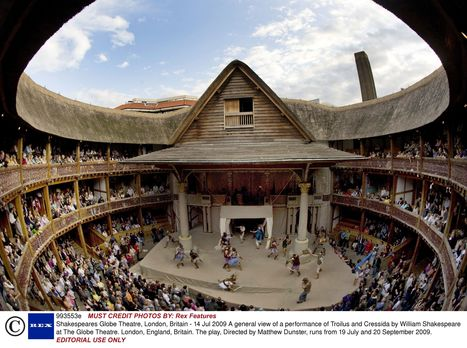 Modern Day Globe Theatre | William Shakespeare and the Globe Theater | Scoop.it