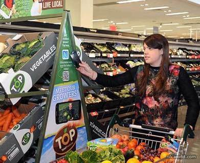 Total Produce pushes fruit and veg with NFC in supermarkets | NFC technology | Scoop.it
